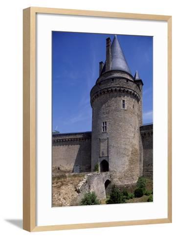 View of Chateau De La Groulais, Blain, Brittany, France, 13th-16th Century--Framed Art Print