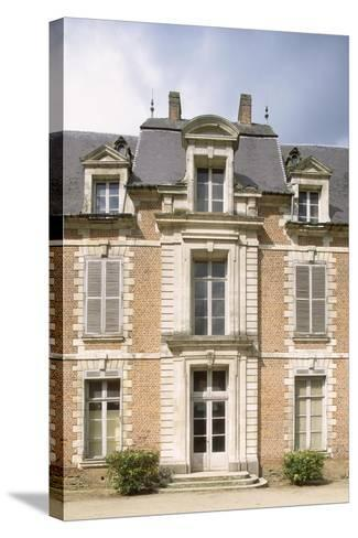 Chateau De Quevauvillers Facade, Picardy, Detail, France, 17th-18th Century--Stretched Canvas Print