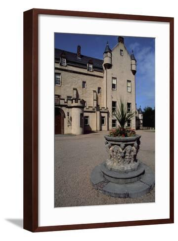View of Fyvie Castle, Aberdeenshire. Scotland, 13th-19th Century--Framed Art Print