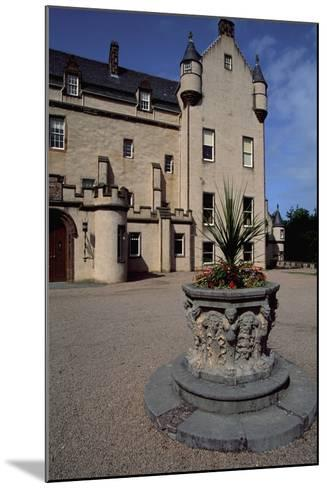 View of Fyvie Castle, Aberdeenshire. Scotland, 13th-19th Century--Mounted Giclee Print