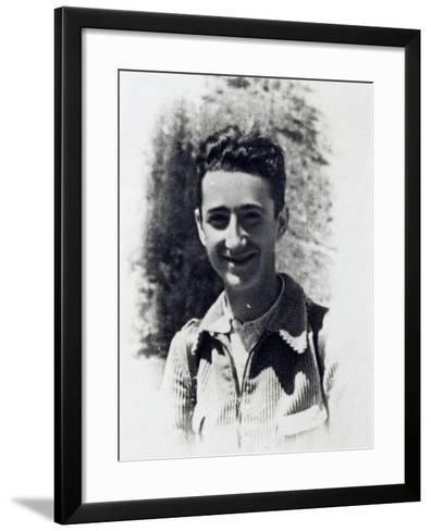 Italy, Partisan Franco Francon--Framed Art Print