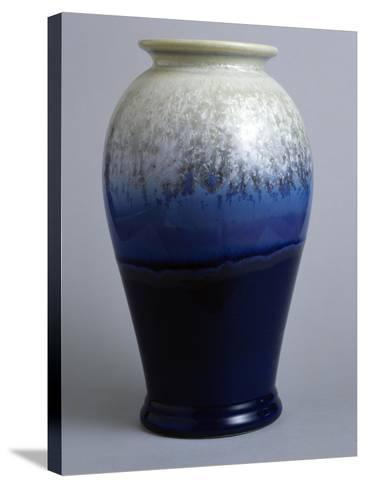 Blue and White Canton Vase, Starfire Collection--Stretched Canvas Print