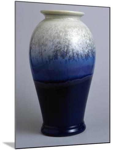 Blue and White Canton Vase, Starfire Collection--Mounted Giclee Print