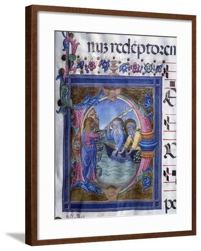 Call of Saints Peter and Andrew, Miniature--Framed Art Print