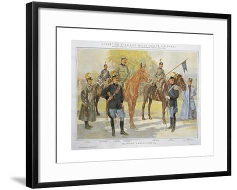 New Uniforms of Savoy Cavalry, 1913--Framed Art Print