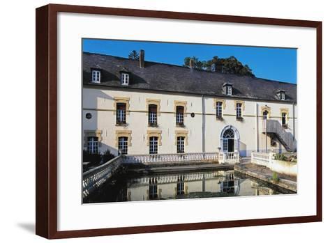 Chateau De Pont De Sains, Feron, Nord-Pas-De-Calais, France--Framed Art Print
