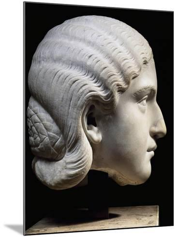 Marble Head of Empress Orbiana, Emperor Alexander Severus' Wife, 225-229--Mounted Giclee Print