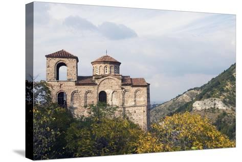 Fortress Church in Mountain Area, Asenovgrad, Rhodope Mountains, Bulgaria--Stretched Canvas Print