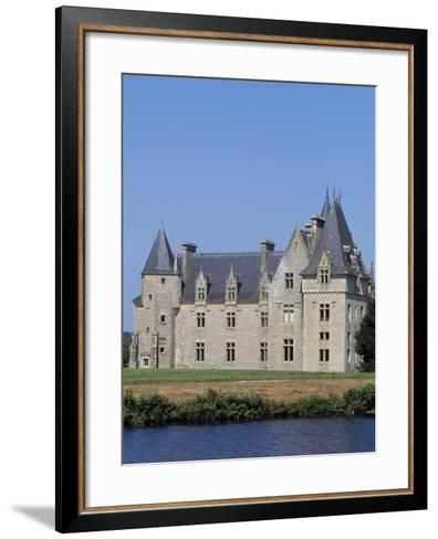 Chateau De Beaumanoir, Le Leslay, Brittany, France, 15th-18th Century--Framed Art Print