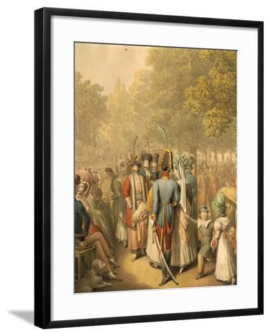 Austria, Vienna, Holiday at the Prater--Framed Art Print