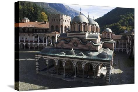 Church of Nativity of the Virgin, Rila Monastery, Sofia, Bulgaria--Stretched Canvas Print