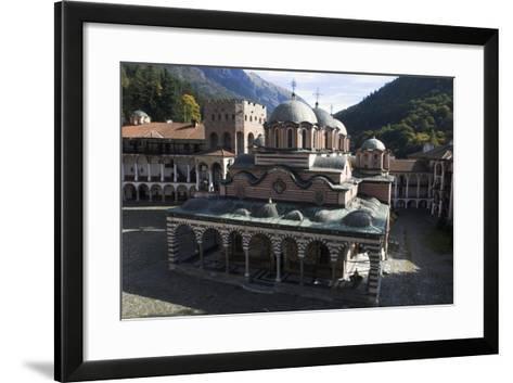 Church of Nativity of the Virgin, Rila Monastery, Sofia, Bulgaria--Framed Art Print