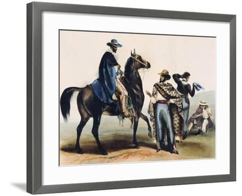 Mexico, Ranchers--Framed Art Print
