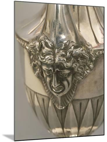 Vase-Shaped Silver Coffeepot, Detail: Decoration Depicting Medusa's Head--Mounted Giclee Print
