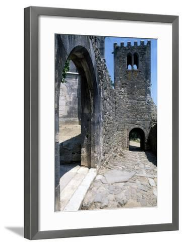Within the Walls of Leiria Castle, Portugal, 12th-14th Century--Framed Art Print