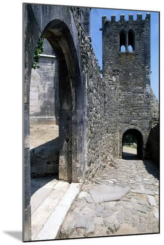 Within the Walls of Leiria Castle, Portugal, 12th-14th Century--Mounted Giclee Print