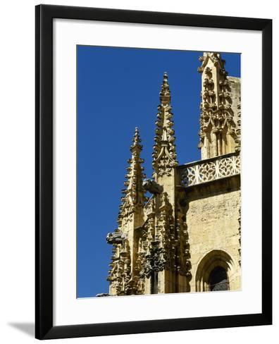Gothic Art, Spain, Segovia, Cathedral, 16th Century, Exterior, Pinnacles--Framed Art Print