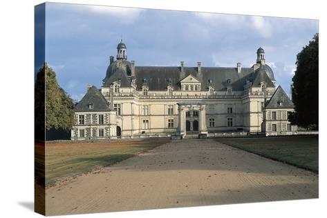 Facade of Chateau De Serrant, Near Angers, France, 16th-17th Century--Stretched Canvas Print