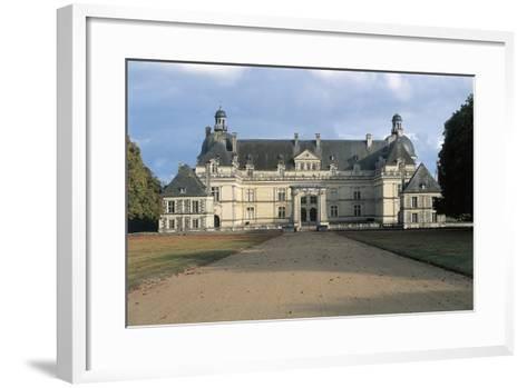 Facade of Chateau De Serrant, Near Angers, France, 16th-17th Century--Framed Art Print