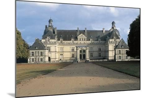 Facade of Chateau De Serrant, Near Angers, France, 16th-17th Century--Mounted Giclee Print
