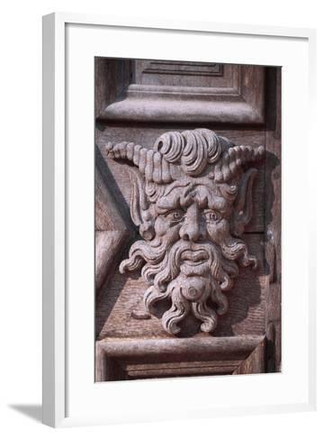 Decorative Detail from Chateau De Chabans, Saint-Leon-Sur-Vezere, Aquitaine--Framed Art Print