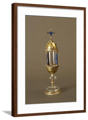 Reliquary of Thorn from Jesus Christ's Crown of Thorns--Framed Art Print
