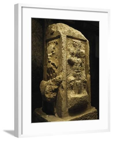 Altar of Jupiter Heliopolitan from Baalbek, Lebanon, End of 2nd Century--Framed Art Print
