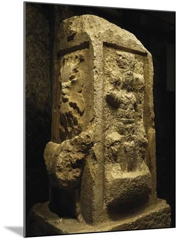 Altar of Jupiter Heliopolitan from Baalbek, Lebanon, End of 2nd Century--Mounted Giclee Print