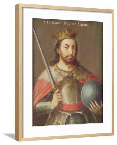 San Fernando, King of Spain, C.1650--Framed Art Print