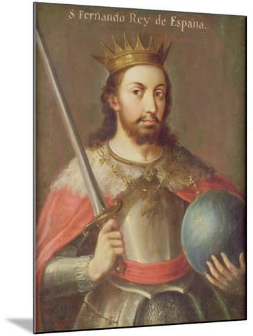 San Fernando, King of Spain, C.1650--Mounted Giclee Print