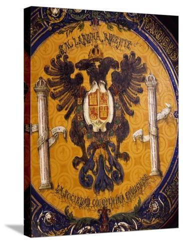 Crest, Zuloaga Ceramic--Stretched Canvas Print