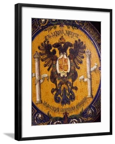 Crest, Zuloaga Ceramic--Framed Art Print