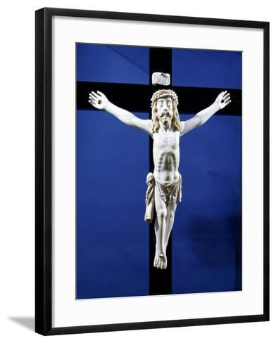 Ivory Crucifix Found on Board Manila Galleon Which Traded with Acapulco, Mexico--Framed Art Print