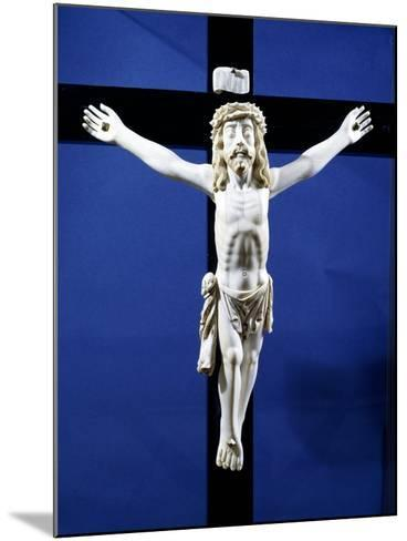 Ivory Crucifix Found on Board Manila Galleon Which Traded with Acapulco, Mexico--Mounted Giclee Print