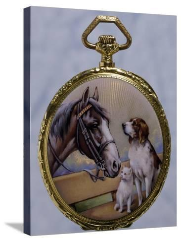 Waistcoat Pocket Watch, Ca 1920--Stretched Canvas Print