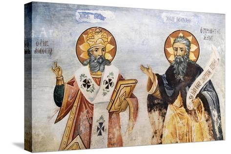 Saints in Church of the Virgin Mary, Bachkovo Monastery, Rhodope Mountains, Bulgaria--Stretched Canvas Print