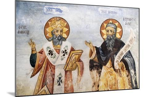 Saints in Church of the Virgin Mary, Bachkovo Monastery, Rhodope Mountains, Bulgaria--Mounted Giclee Print