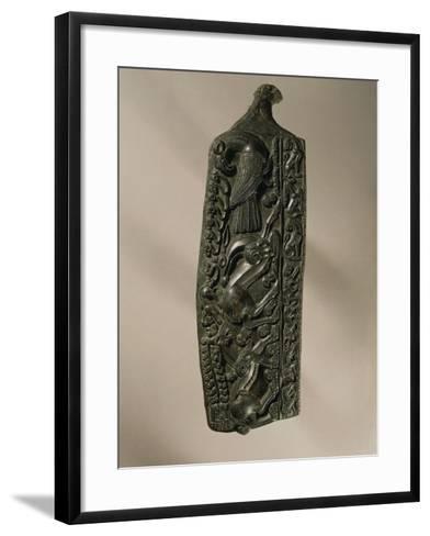 Bronze Matrix to Mold Glasses, from Gurchinovo--Framed Art Print