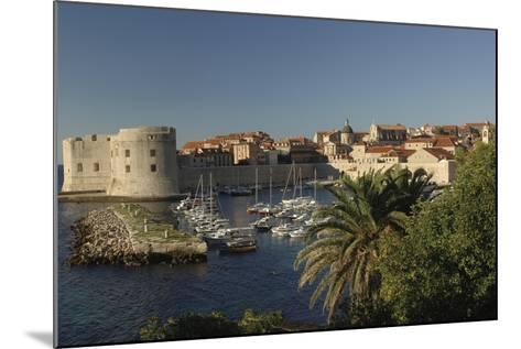 Croatia, Dalmatia, Dubrovnik, Port Near Old Town--Mounted Giclee Print