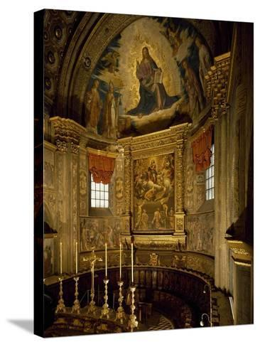 Central Apse of Cathedral of Santa Maria Assunta, Cremona, Italy, 12th-14th Century--Stretched Canvas Print
