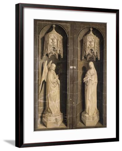 Annunciation, Burning Bush Triptych, 1475--Framed Art Print