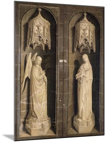 Annunciation, Burning Bush Triptych, 1475--Mounted Giclee Print