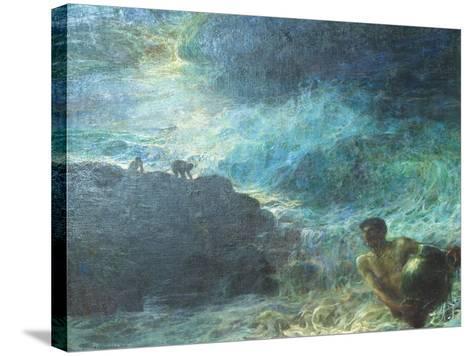 I Tesori Del Mare, 1901--Stretched Canvas Print