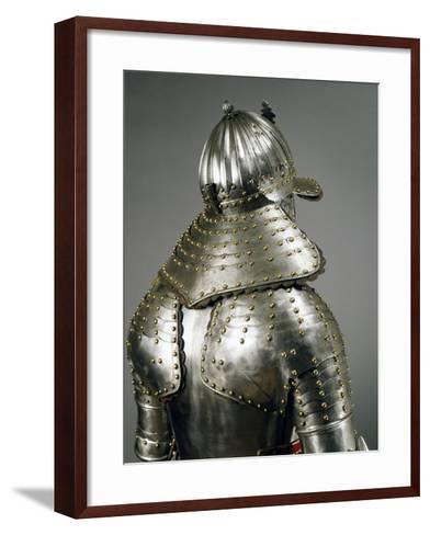 Corselet in Steel, Circa 1640, Netherlands, Detail--Framed Art Print