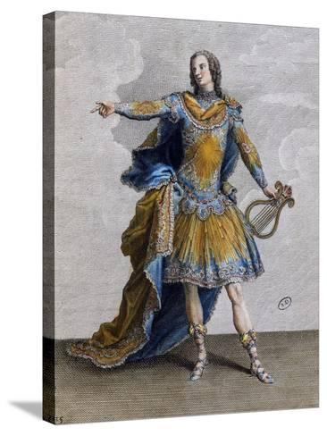 Louis XV Wearing Costume of Apollo, France--Stretched Canvas Print