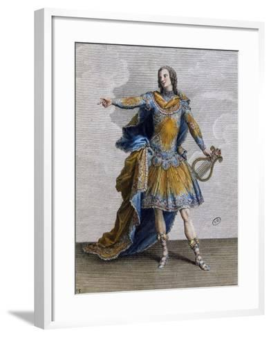 Louis XV Wearing Costume of Apollo, France--Framed Art Print