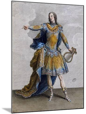 Louis XV Wearing Costume of Apollo, France--Mounted Giclee Print