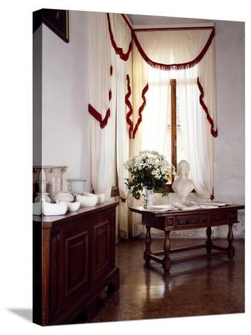Glimpse of Interior, Villa Fracanzan-Piovene, Orgiano, Veneto, Italy--Stretched Canvas Print