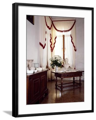 Glimpse of Interior, Villa Fracanzan-Piovene, Orgiano, Veneto, Italy--Framed Art Print