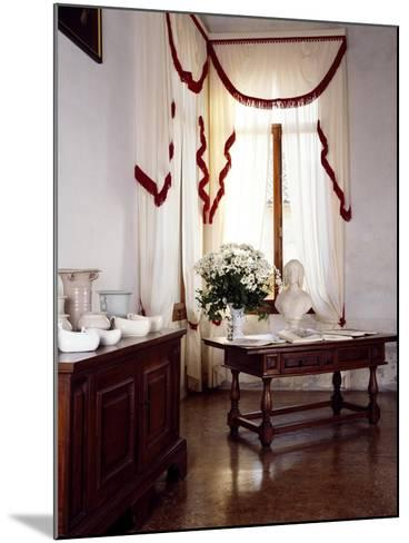 Glimpse of Interior, Villa Fracanzan-Piovene, Orgiano, Veneto, Italy--Mounted Giclee Print